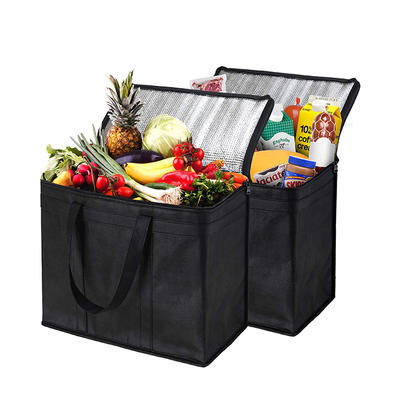 Custom Non Woven Cooler Packaging Bags for Foods and Drinks