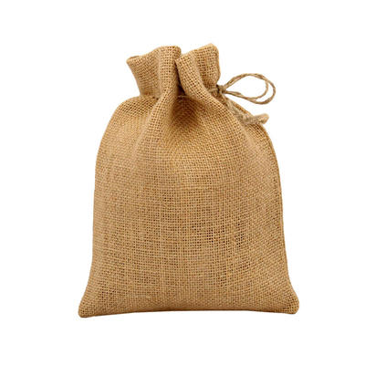Custom Natural Jute Bag with String Wholesale Manufacturers