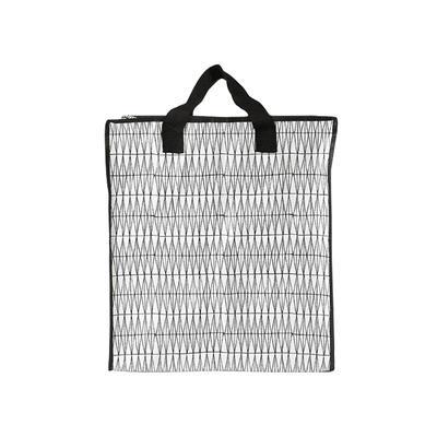 Custom Foldable Zipper PP Woven Shopping Bags Manufacturer