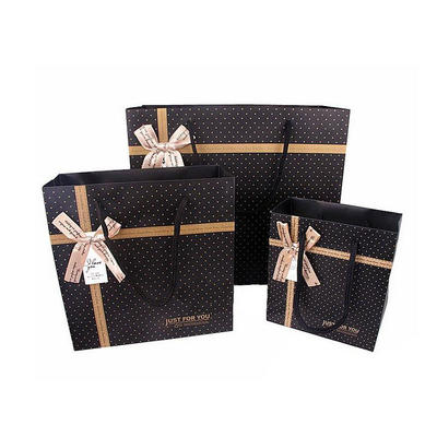 Custom Printed Gift Packaging Paper Shopping Bags for Clothes